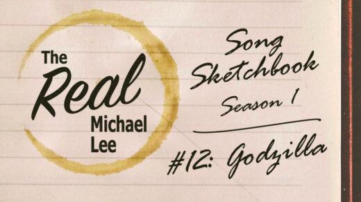 Song sketchbook #12: Godzilla