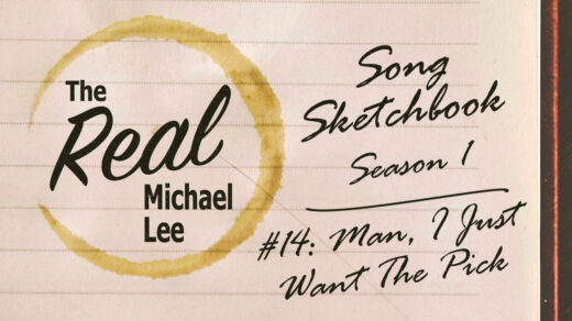 Song sketchbook #14: Man, I Just Want The Pick